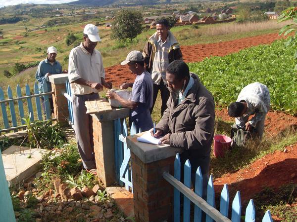 Projet eau à Antaninandro