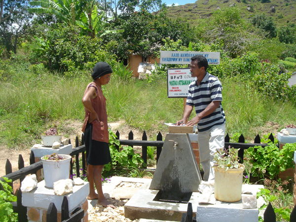 Trinkwasserversorgung in Ambohipanananona
