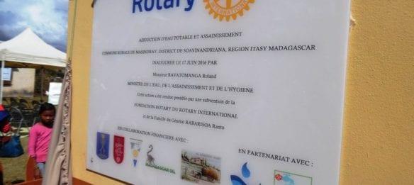 plaque Masindray 1